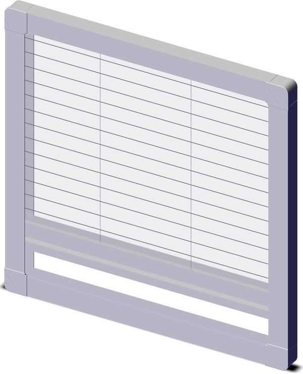 Plase tip plisse ferestre