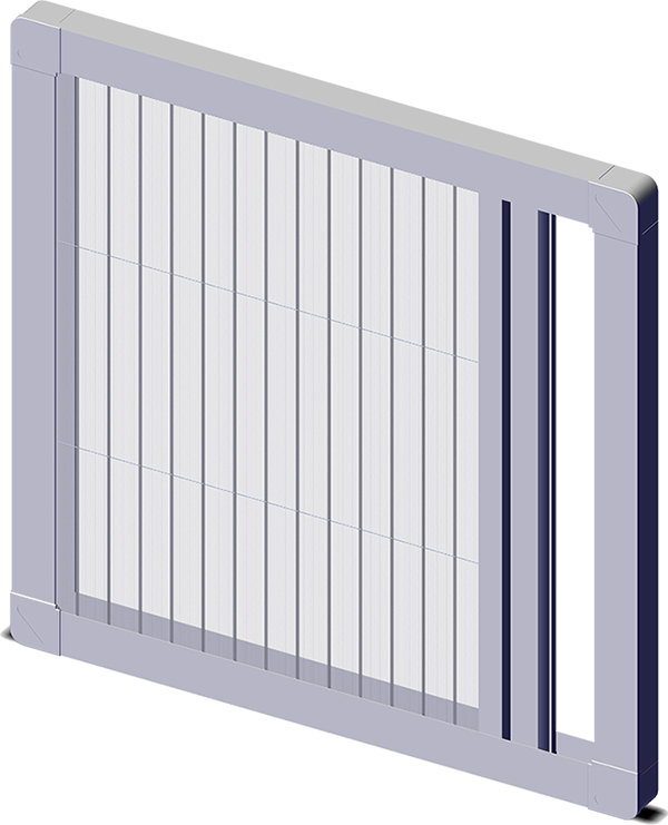 Plase tip plisse uși